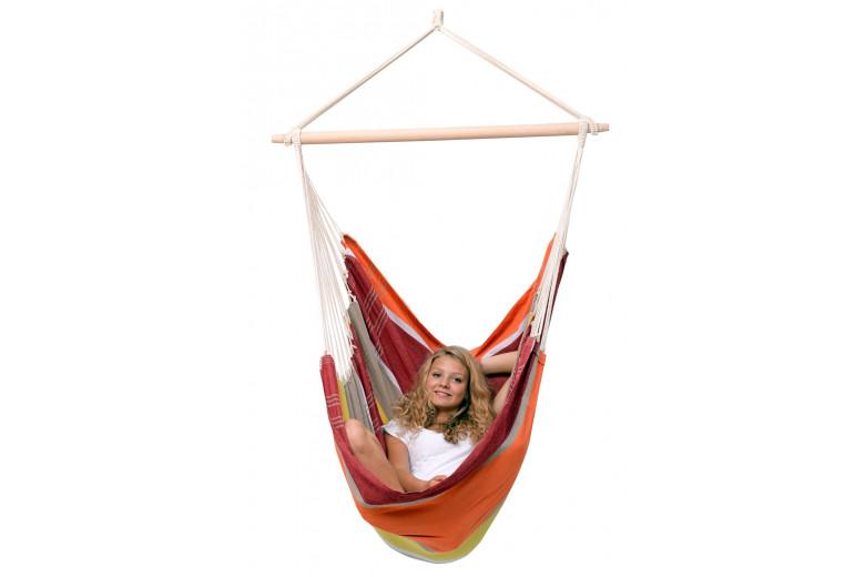 Brasil hanging chair Acerola