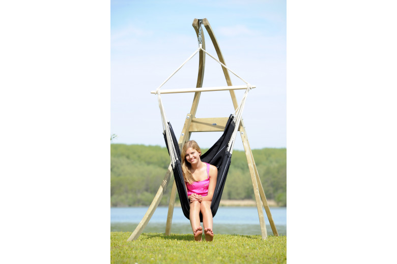 Brasil hanging chair Black