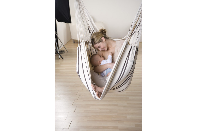 Brasil hanging chair Cappuccino
