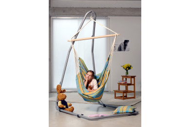 Brasil hanging chair Lemon