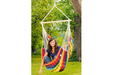 Brasil hanging chair Rainbow