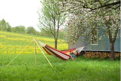 Madera wooden hammock frame