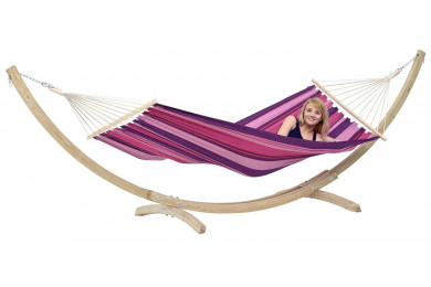 Star Set Candy hammock with wooden stand