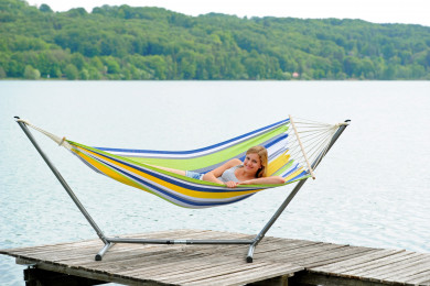 Sumo Set Kolibri hammock with metallic stand