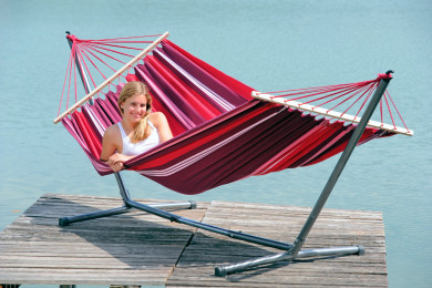 Sumo Set Samba hammock with metallic stand
