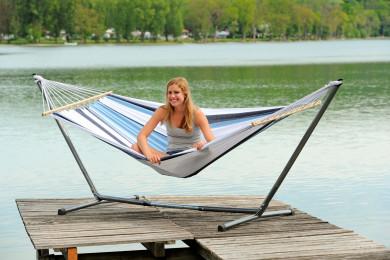 Sumo Set Samba Marine hammock with metallic stand