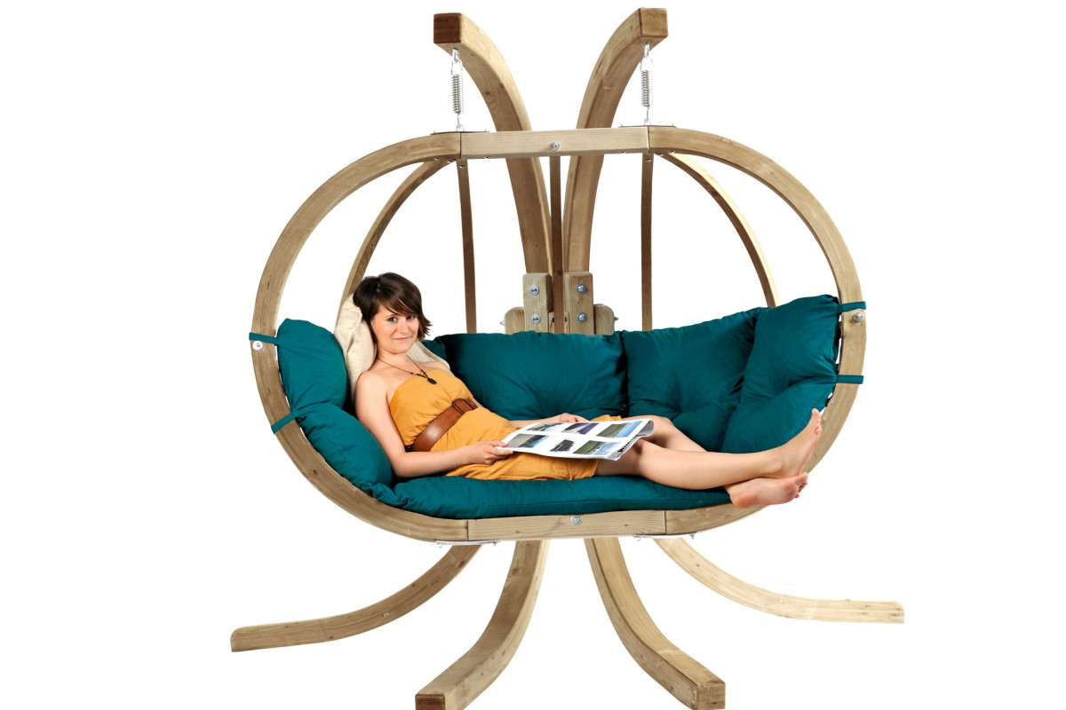 Delightful ... Globo Royal Stand Wooden Hanging Chair Frame ...