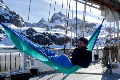 Hammock Ultra-Light ice-blue