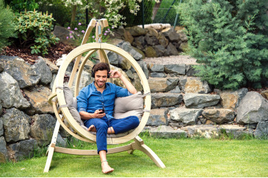 Hanging chair Globo Natura