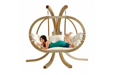 Hanging Chair Globo Royal Green