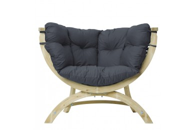 Siena Uno Lounge Chair - Anthracite